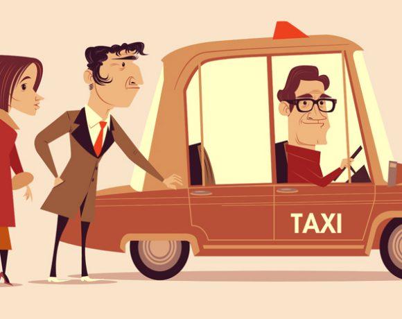 Three Men  & Car