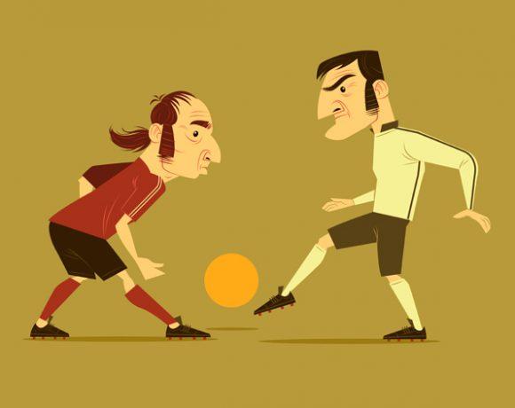 Two Men Soccer