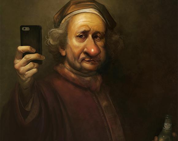 Rembrandt's Selfie